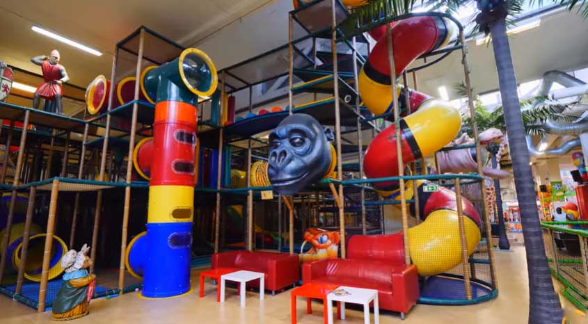 Make a plan for your indoor playground