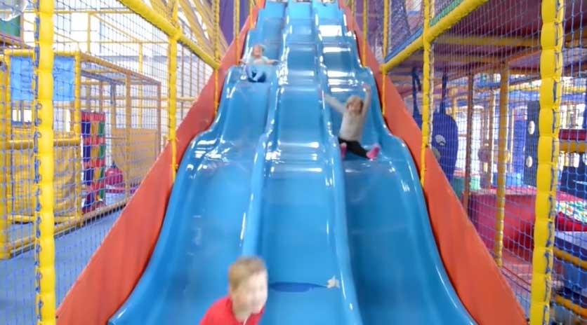 Planning scheme of indoor children's amusement park