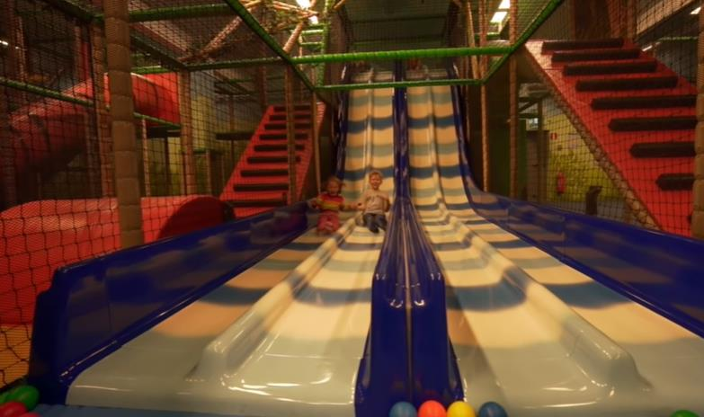 Indoor playground ticket income